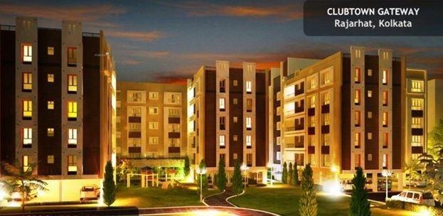 1067 sqft, 2 bhk Apartment in Space Club Town Gateway New Town, Kolkata at Rs. 63.0000 Lacs