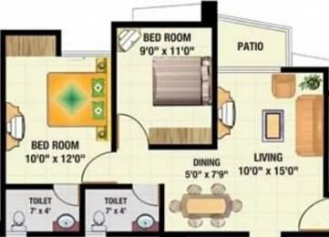 850 sqft, 2 bhk Apartment in Sadguru Complex Mira Road East, Mumbai at Rs. 63.0000 Lacs