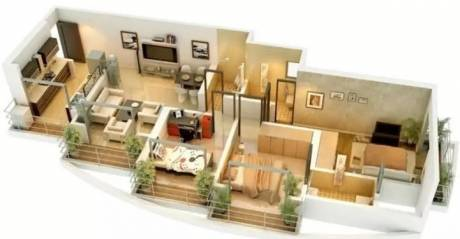 1350 sqft, 3 bhk Apartment in Ravi Gaurav Woods II Mira Road East, Mumbai at Rs. 73.0000 Lacs