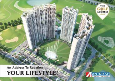 1380 sqft, 3 bhk Apartment in The Antriksh The Golf Address Sector 150, Noida at Rs. 61.2000 Lacs