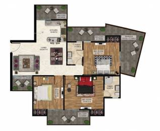 1484 sqft, 3 bhk Apartment in The Antriksh The Golf Address Sector 150, Noida at Rs. 58.5000 Lacs