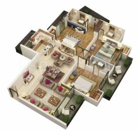 1962 sqft, 3 bhk Apartment in The Antriksh The Golf Address Sector 150, Noida at Rs. 77.3000 Lacs