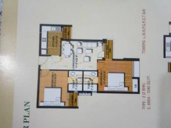 990 sqft, 2 bhk Apartment in Logix Blossom Greens Sector 143, Noida at Rs. 38.0000 Lacs
