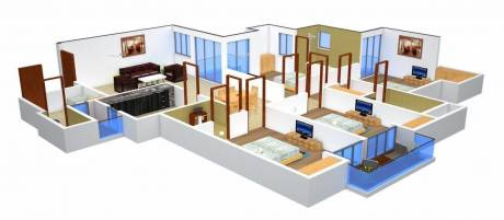 2250 sqft, 4 bhk Apartment in Urbtech Xaviers Sector 168, Noida at Rs. 1.1200 Cr