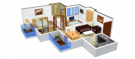 959 sqft, 2 bhk Apartment in Urbtech Xaviers Sector 168, Noida at Rs. 45.0000 Lacs