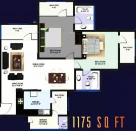 1175 sqft, 2 bhk Apartment in Revanta Heights Chhawla, Delhi at Rs. 37.2500 Lacs