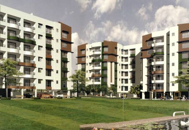 1295 sqft, 3 bhk Apartment in Jain Dream Residency Rajarhat, Kolkata at Rs. 46.0000 Lacs