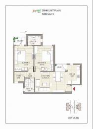 1080 sqft, 2 bhk Apartment in Builder Joy nest moh Main Zirakpur Road, Chandigarh at Rs. 36.1000 Lacs