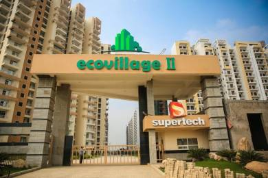 1106 sqft, 2 bhk Apartment in Builder Supertech Ecovillage sector 1 Noida Extension, Greater Noida at Rs. 36.5000 Lacs