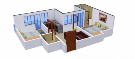 780 sqft, 2 bhk Apartment in Radicon Vedantam Sector 16C Noida Extension, Greater Noida at Rs. 25.0000 Lacs