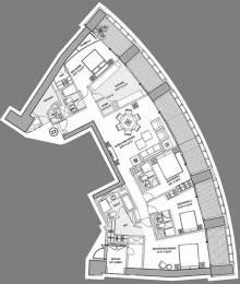 3267 sqft, 4 bhk Apartment in Lodha World Crest Lower Parel, Mumbai at Rs. 12.5000 Cr