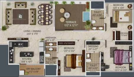2276 sqft, 3 bhk Apartment in Paranjape Sky One Shivaji Nagar, Pune at Rs. 2.0000 Lacs