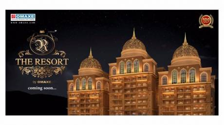 1002 sqft, 2 bhk Apartment in Omaxe The Resort Mullanpur, Mohali at Rs. 30.7824 Lacs