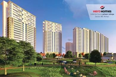 1950 sqft, 3 bhk Apartment in Hero Hero Homes Sector 88 Mohali, Mohali at Rs. 90.6543 Lacs