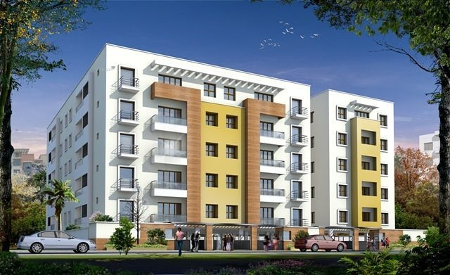 1150 sqft, 2 bhk Apartment in Safco Blue Sky Thanisandra, Bangalore at Rs. 45.9885 Lacs