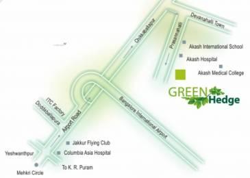 1500 sqft, Plot in Nibha Green Hedge Devanahalli, Bangalore at Rs. 38.2500 Lacs