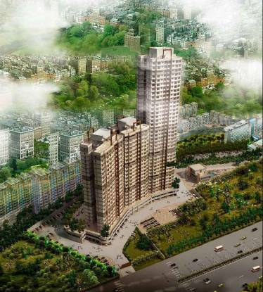1302 sqft, 3 bhk Apartment in Dhaval Sunrise Charkop Wing C Kandivali West, Mumbai at Rs. 1.9600 Cr