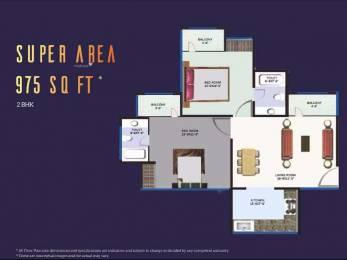 975 sqft, 2 bhk Apartment in Revanta Heights Chhawla, Delhi at Rs. 32.7125 Lacs