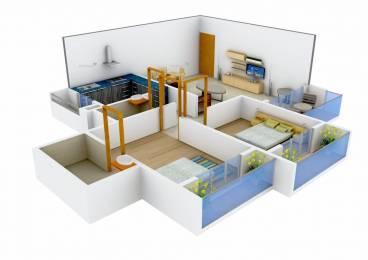 1080 sqft, 2 bhk Apartment in Moraj Riverside Park Panvel, Mumbai at Rs. 85.0000 Lacs