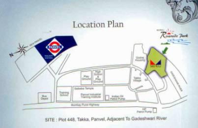 935 sqft, 2 bhk Apartment in Moraj Riverside Park Panvel, Mumbai at Rs. 10500