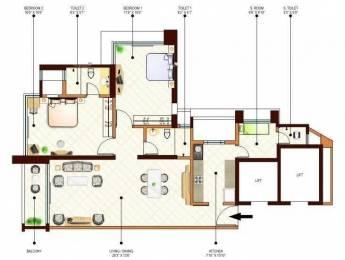 1405 sqft, 2 bhk Apartment in Peninsula Ashok Gardens Parel, Mumbai at Rs. 4.6000 Cr