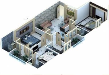 1527 sqft, 3 bhk Apartment in Vibrant Naman Residency Phase II Dholai, Jaipur at Rs. 41.2000 Lacs