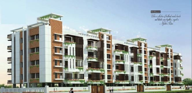 1008 sqft, 2 bhk Apartment in Sree Raja Rajeshwari Developers Vista Heights Thiruvanmiyur, Chennai at Rs. 1.3200 Cr