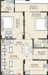 1175 sqft, 2 bhk Apartment in Vardhman Silver Crown Gandhi Path West, Jaipur at Rs. 32.9000 Lacs