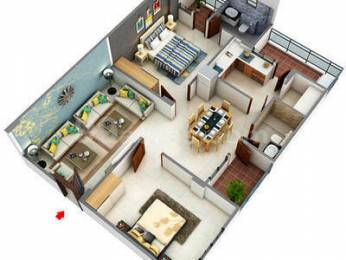 1310 sqft, 2 bhk Apartment in Builder Project Vaishali Nagar, Jaipur at Rs. 39.1100 Lacs