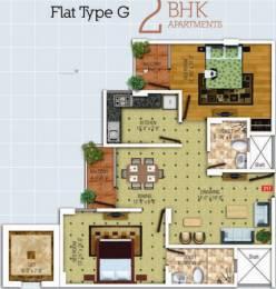 1220 sqft, 2 bhk Apartment in SDC The Destination Lalarpura, Jaipur at Rs. 31.1100 Lacs