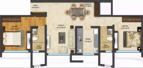 1001 sqft, 2 bhk Apartment in ACME Ozone Thane West, Mumbai at Rs. 23000