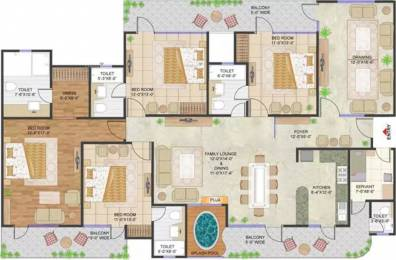 3000 sqft, 4 bhk Apartment in Prateek Stylome Sector 45, Noida at Rs. 2.3000 Cr