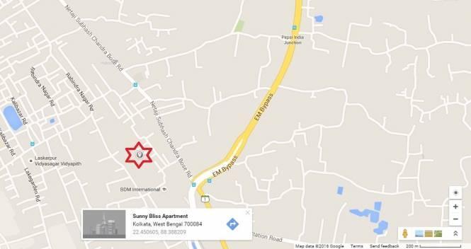 1260 sqft, 3 bhk Apartment in Starlite Sunny Bliss Garia, Kolkata at Rs. 59.2200 Lacs