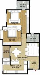 1200 sqft, 2 bhk Apartment in Brigade Pinnacle Derebail, Mangalore at Rs. 57.4800 Lacs