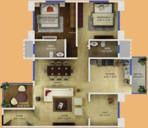 1395 sqft, 2 bhk Apartment in Karia Krish Mundhwa, Pune at Rs. 90.0000 Lacs