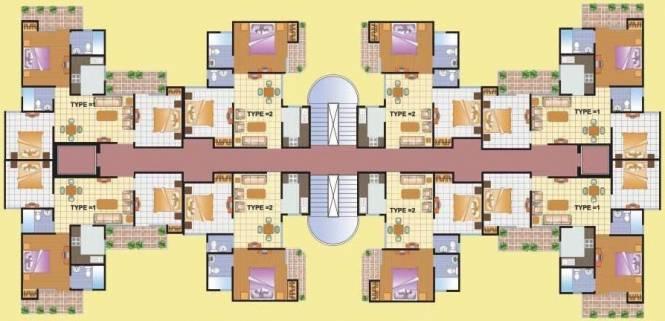 1100 sqft, 3 bhk Apartment in KDPMGI Group KDP MGI Gharaunda Raj Nagar Extension, Ghaziabad at Rs. 36.5000 Lacs