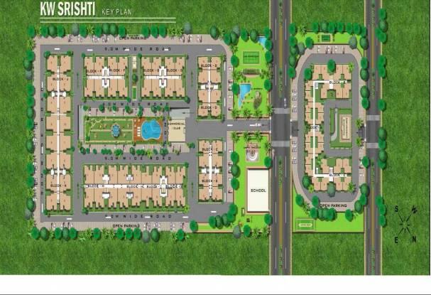 750 sqft, 1 bhk Apartment in K World Estates Builders KW Srishti Raj Nagar Extension, Ghaziabad at Rs. 5000