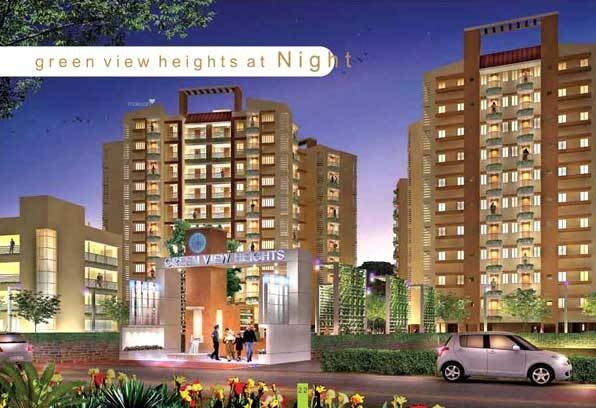 650 sqft, 1 bhk Apartment in Grah Green View Heights Raj Nagar Extension, Ghaziabad at Rs. 7000