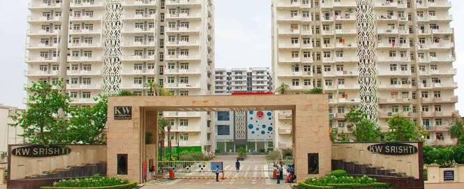 1500 sqft, 3 bhk Apartment in K World Estates Builders KW Srishti Raj Nagar Extension, Ghaziabad at Rs. 9000