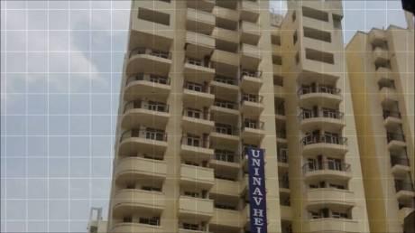 1235 sqft, 3 bhk Apartment in Uninav Heights Raj Nagar Extension, Ghaziabad at Rs. 8500