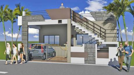 1500 sqft, 2 bhk Villa in Builder WALLFORT PARADISE Kamal Vihar, Raipur at Rs. 37.5000 Lacs