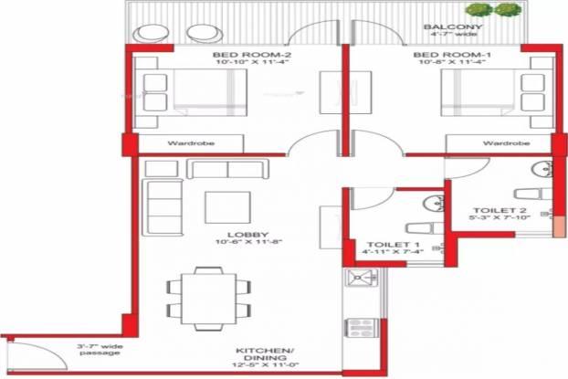 Bhk West Facing Under Construction Property Apartment For Sale Lacs