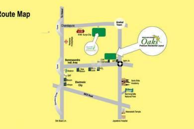 1200 sqft, Plot in PNR Mahaveer Oaks Jigani, Bangalore at Rs. 13.8000 Lacs