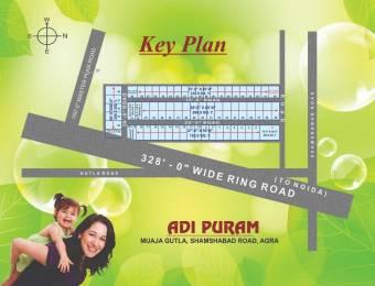 900 sqft, Plot in Builder Adinath adipuram Shamshabad Road, Agra at Rs. 6.5000 Lacs