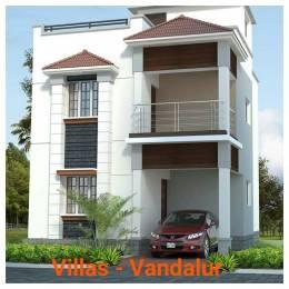 1253 sqft, 3 bhk Villa in Builder Indira projects green Ville kandigai chennai Kandigai, Chennai at Rs. 50.1200 Lacs
