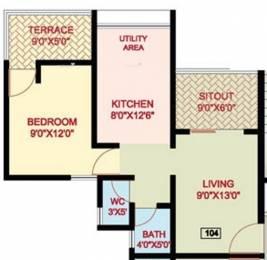 585 sqft, 1 bhk Apartment in Nanded Mangal Bhairav Dhayari, Pune at Rs. 35.0000 Lacs