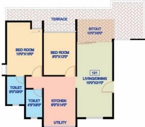 938 sqft, 2 bhk Apartment in Nanded Madhuvanti Dhayari, Pune at Rs. 61.0000 Lacs