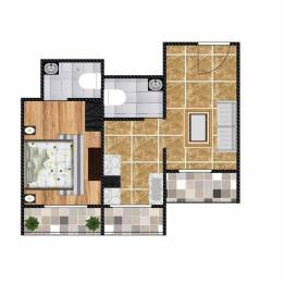 695 sqft, 1 bhk Apartment in Ostwal Ostwal Orchid Mira Road East, Mumbai at Rs. 46.5650 Lacs