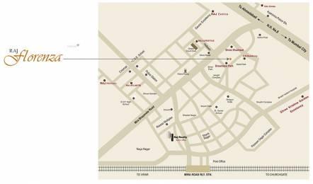 725 sqft, 1 bhk Apartment in Raj Florenza Mira Road East, Mumbai at Rs. 56.5500 Lacs