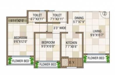970 sqft, 2 bhk Apartment in Raj Estate Mira Road East, Mumbai at Rs. 67.9194 Lacs